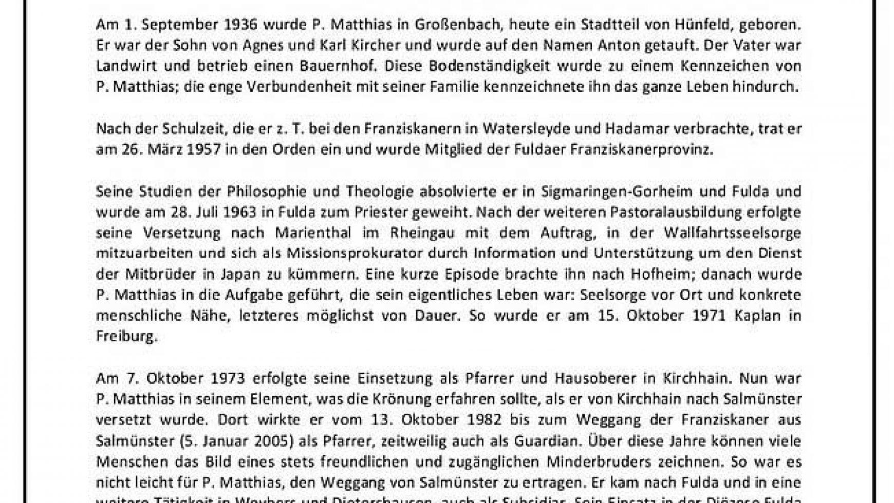 Gründer der Passionsspiele Salmünster verstorben