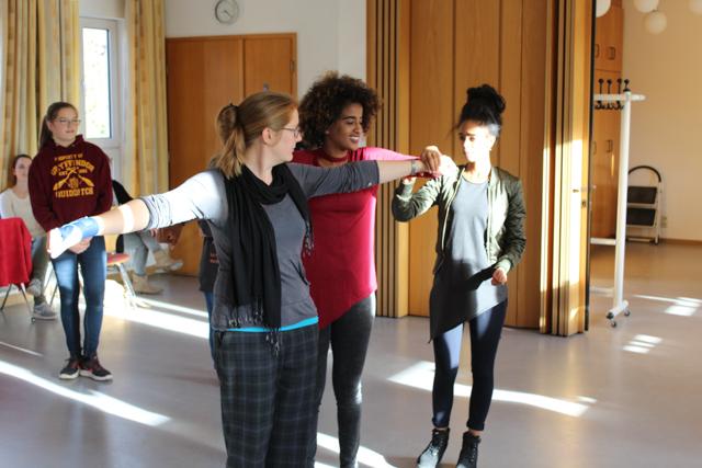 Theaterworkshop für geflüchtete Jugendliche