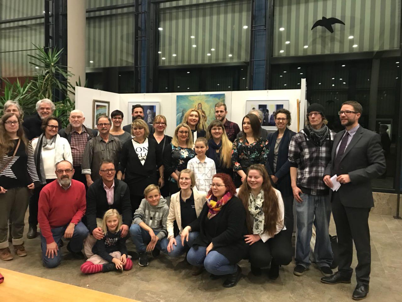 Eröffnung der Passions-Ausstellung im Main-Kinzig-Forum